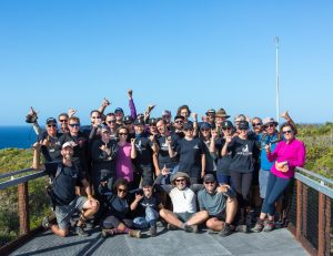 Group photo at cape2cape trekkers